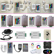 DC 12V IR RF Wireless LED Controller Dimmer Switch for 3528 5050 Strip Lights