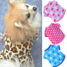 Cute Pet Winter Clothes Puppy Dog Cat Vest T Shirt Coat Dress Sweater Apparel HO