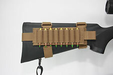 AAT Coyote Brown Pouch Sniper Rifle 8 Shell Card Harness Spec USA Made
