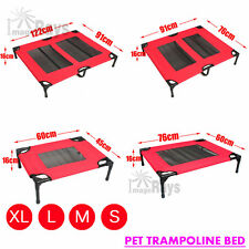 Heavy Duty Pet Dog Bed Trampoline Hammock Bed Frame Cat Puppy Cover S M L XL NEW