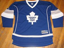 TORONTO MAPLE LEAFS BLUE JERSEY NHL HOCKEY YOUTH KIDS L/XL LARGE REEBOK CANADA L