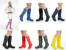 Ladies Original Tall Winter Waterproof Rain Wellies Wellington Boots All Sizes