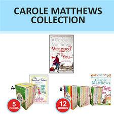 Carole Matthews Collection Chocolate Lovers' Christmas, Gift Wrapped Set New