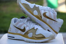 DS 2010 Nike Trainer 1.2 Low MP Prem White/Metallic-Gold Team Pacuiao 445235-171