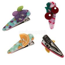 Cute Women Girls Kids Fruits Design Barrette Hair Clip Hair Pins Hair Accessory