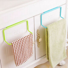 Bathroom Kitchen Cabinet Cupboard Towel Rack Hanger Hanging Holder Organizer