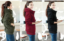 New hooded long-sleeved jacket cardigan qiu dong female sport coats