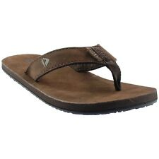 Reef Leather Smoothy Sandals - Brown