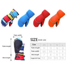 TUBAN Winter Waterproof Ski Snow Mittens Breathable Gloves For Kid Boy Girl