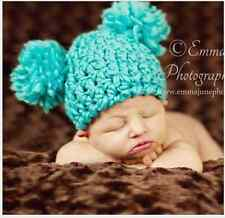 T-12 Cute Baby Photo Props Toddler Winter Warm Hat Knitted Cap Xmas Gift