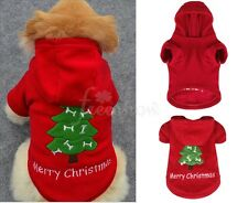 Pet Dog Warm Clothes Puppy Winter Sweater Christmas Costume Jacket Coat Apparel