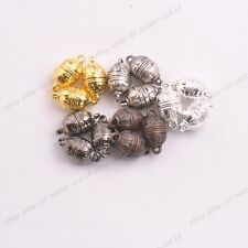 5/10/20Sets Egg Feature Oblate Strong Magnetic Clasps Jewelry Findings 15X8MM