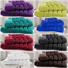 100% Egyptian Cotton Satin Stripe Towels *Top Quality* 500GSM