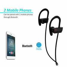 Outdoor Exercise Stereo Music Bluetooth V4.0 Headphone Earphone Headset BH-02 SM