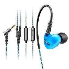 3.5mm In Ear Waterproof Earphones Earbuds HIFI Sport Headphones Bass Headset Mic