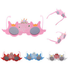 Novelty Funny Party Glasses Fancy Dress Happy Birthday Candles Sunglasses