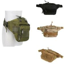 Outdoor Tactical Military Bag MOLLE Fanny Pack Belt Waist Bag Utility Pouch Case