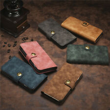 New PU Leather Magnetic Flip Card Slots Wallet Case Cover For iPhone 6/6S 7 Plus