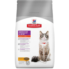 Hill's Science Plan Adult Cat Sensitive Skin Chicken Dry Food Omega 3-6 Healthy