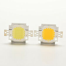 10PCS 10W Cool/Warm White High Power 30Mil SMD LED Chip Flood Light Bead Popular