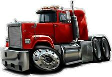Mack Superliner Truck Diesel Semi Trucks Big Riggs Wall Decal Sticker Graphic