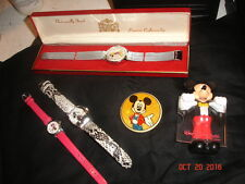 Mickey Mouse Minnie Mouse Lot Watches True Vintage Mini Mouse Pin Brooch Photo
