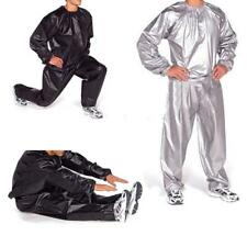 Unisex Heavy Duty Gym Exercise Fitness Sauna Sweat Suit Slimming Weight Loss XL