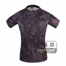 Emerson Skin-tight Base Layer Camo V-Neck Outdoor Running Hunting Tactical Shirt