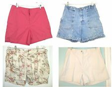 Size 10-14 - NWT & Preowned Sonoma Solid Color & Printed Shorts