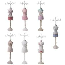 Elegant Cheongsam Dress Mannequin Earring Necklace Jewelry Display Stand Holder