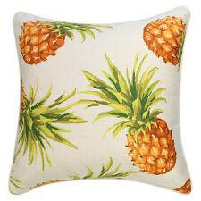 NEW Outdoor Cushion Pineapples Natural  (various sizes) by Escape to Paradise