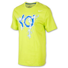 "Nike Kevin Durant ""KD Lightning"" Dri-Fit T-Shirt Cyber/Old Royal Men's Large 2XL"