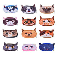 Fashion Soft Plush Pencil Pen Case Novelty Makeup Cosmetic Pouch Bag Zipper SP