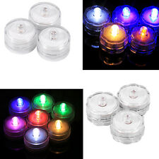 12pcs LED Candle Submersible Waterproof Wedding Xmas Party Decoration Lamp ZY
