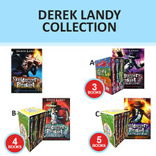 Derek Landy Skulduggery Pleasant Collection Mortal Coil Gift Wrapped New Set