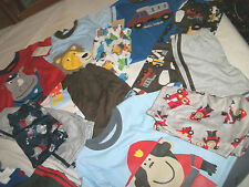 *NWT NEW BOYS 3PC CARTERS SHARK TRUCK LION MONKEY CRAB PAJAMAS SET 12 18 2T 3T 4