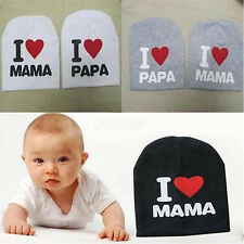 Cute Hipster Boy Girl Infant Cotton Soft Warm Hat Cap Beanie 1-4 Year Baby