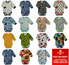 baby body vest boy girl clothes bodysuits long sleeves 0-3-6-9-12-18-24months