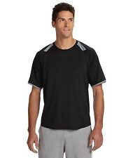 Russell Athletic Dri-Power Tee with Colorblock Inserts Basic T Shirt Mens 6B6DPM
