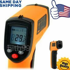 HH Non-Contact LCD IR Laser Infrared Digital Temperature Thermometer Gun SM