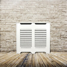 Traditional Radiator Cover/Cabinet - Made To Measure - Horizontal Slats Grille