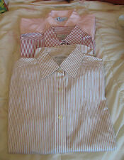 Brooks Brothers Sz 2 Small Non Iron Blouse Button Down Shirt Top