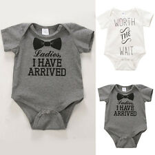 Newborn Baby Kids Romper Jumpsuit Boys Girls Lovely Bodysuit Clothes Outfit Sets