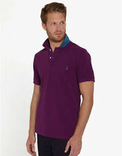 Joules Men's Woody Classic Polo Shirt Purple Or Navy - Free P&P