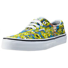 Vans Era Toy Story Aliens Kids Trainers Green Multicolour New Shoes