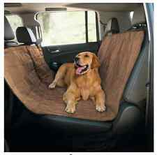 Quilted Pet Hammock Car Seat Cover Dog Cat Puppy Rear Protector Travel Back SUV