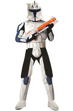 Star Wars Clone Wars Deluxe Clone Trooper Captain Rex Adult Costume