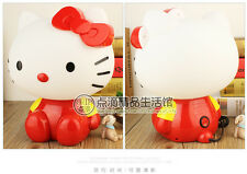 Modern Cute Hello Kitty Table Lamp Bedside Desk Light Children Bedroom Lighting