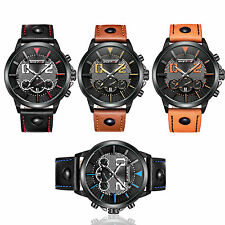 4Colors Mens Digital LCD Date Alarm Waterproof Military Army Quartz Sports Watch