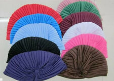Unisex Turban Stretchable Head New Hat Headwrap Hair Cap Style Wrap Indian